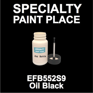 EFB552S9 Oil Black - Axalta - 2oz Bottle with Brush
