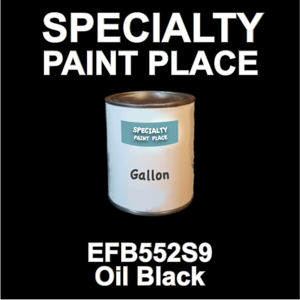 EFB552S9 Oil Black - Axalta - Gallon Can