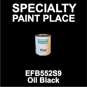 EFB552S9 Oil Black - Axalta - Pint Can