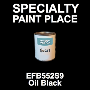 EFB552S9 Oil Black - Axalta - Quart Can