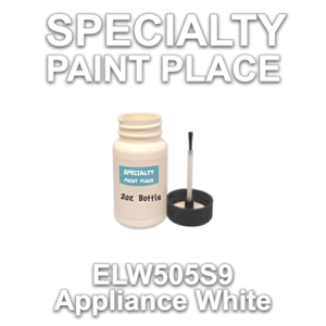 ELW505S9 Appliance White - Axalta - 2oz Bottle with Brush