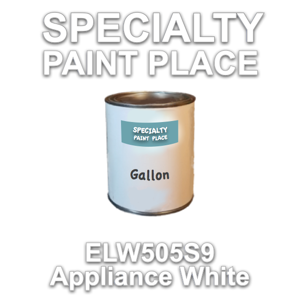 ELW505S9 Appliance White - Axalta - Gallon Can