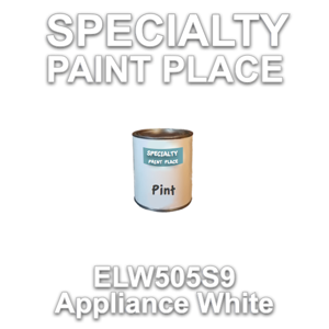 ELW505S9 Appliance White - Axalta - Pint Can