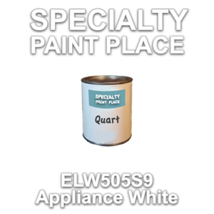 ELW505S9 Appliance White - Axalta - Quart Can