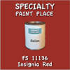 Federal Standard 11136 Insignia Red Gallon Can