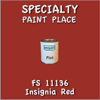 Federal Standard 11136 Insignia Red Pint Can