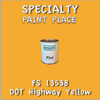Federal Standard 13538 DOT Highway Yellow Pint Can