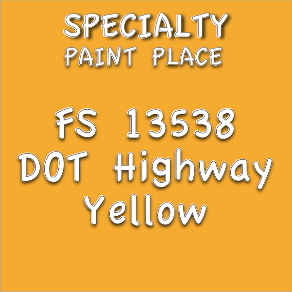 Federal-Standard-13538-dot-highway-yello