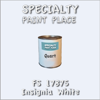 Federal Standard 17875 Insignia White Quart Can