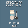 Federal Standard 25109 Blue 2oz Bottle with Brush