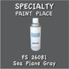 Federal Standard 26081 Sea Plane Gray 16oz Aerosol Can