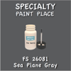 Federal Standard 26081 Sea Plane Gray 2oz Bottle with Brush