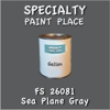Federal Standard 26081 Sea Plane Gray Gallon Can