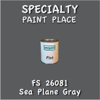 Federal Standard 26081 Sea Plane Gray Pint Can