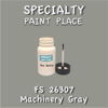 Federal Standard 26307 Machinery Gray 2oz Bottle with Brush