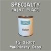 Federal Standard 26307 Machinery Gray Gallon Can