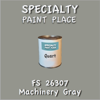Federal Standard 26307 Machinery Gray Quart Can