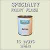 Federal Standard 27875 White Gallon Can