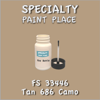 Federal Standard 33446 Tan 686 Camo 2oz Bottle with Brush