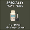 Federal Standard 34083 Air Force Green 2oz Bottle with Brush