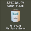 Federal Standard 34083 Air Force Green Gallon Can
