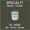 Federal Standard 34083 Air Force Green Quart Can