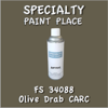Federal Standard 34088 Olive Drab Carc 16oz Aerosol Can