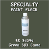 Federal Standard 34094 Green 383 Camo 16oz Aerosol Can