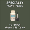 Federal Standard 34094 Green 383 Camo 2oz Bottle with Brush