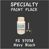 Federal Standard 37038 Navy Black 2oz Bottle with Brush