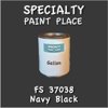 Federal Standard 37038 Navy Black Gallon Can