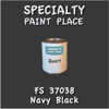 Federal Standard 37038 Navy Black Quart Can