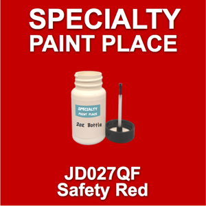 JD027QF safety red - AkzoNobel - 2oz Bottle with Brush