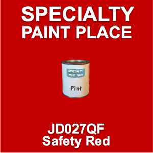 JD027QF safety red - AkzoNobel - Pint Can