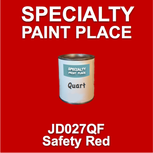 JD027QF safety red - AkzoNobel - Quart Can