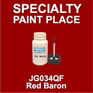 JG034QF Red Baron - AkzoNobel - 2oz Bottle with Brush
