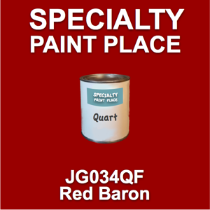 JG034QF Red Baron - AkzoNobel - Quart Can