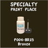 P004-BR23 Bronze 2oz Bottle with Brush