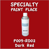 P009-RD02 Dark Red 16oz Aerosol Can