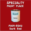 P009-RD02 Dark Red Gallon Can