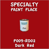 P009-RD02 Dark Red Pint Can