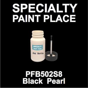 PFB502S8 Black Pearl - Axalta - 2oz Bottle with Brush