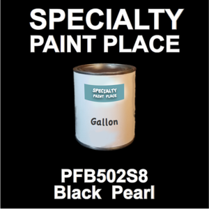 PFB502S8 Black Pearl - Axalta - Gallon Can