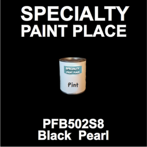 PFB502S8 Black Pearl - Axalta - Pint Can