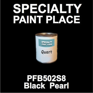PFB502S8 Black Pearl - Axalta - Quart Can