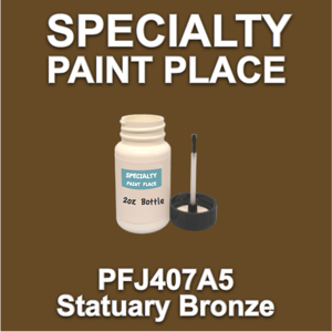 PFJ407A5 Statuary Bronze - Axalta - 2oz Bottle with Brush