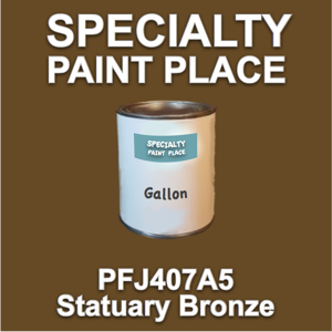 PFJ407A5 Statuary Bronze - Axalta - Gallon Can
