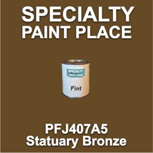PFJ407A5 Statuary Bronze - Axalta - Pint Can
