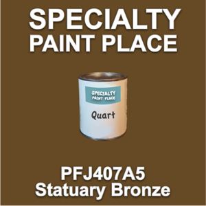 PFJ407A5 Statuary Bronze - Axalta - Quart Can