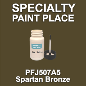 PFJ507A5 Spartan Bronze - Axalta - 2oz Bottle with Brush